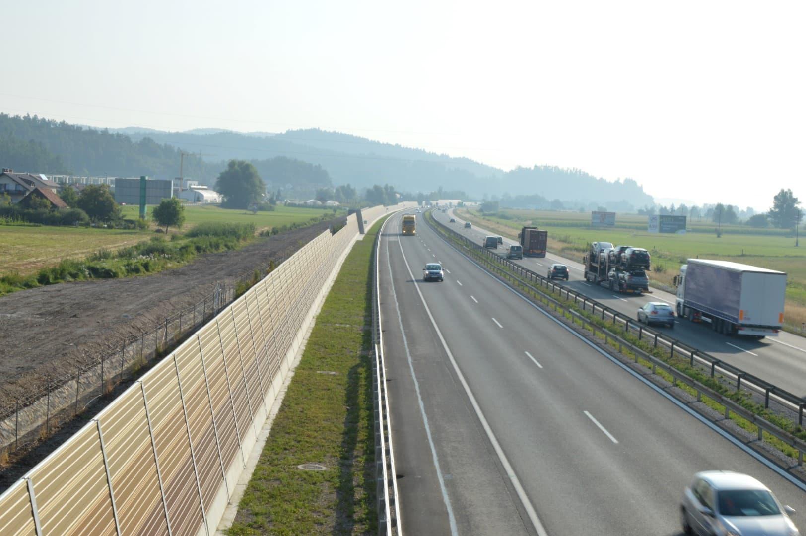 Prometni hrup AC Brezovica-Vrhnika slika9