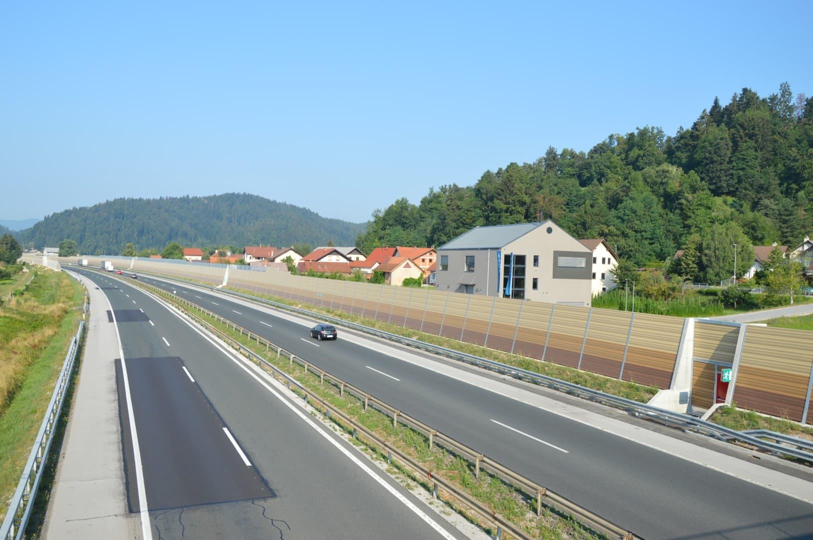 Prometni hrup AC Brezovica-Vrhnika slika14