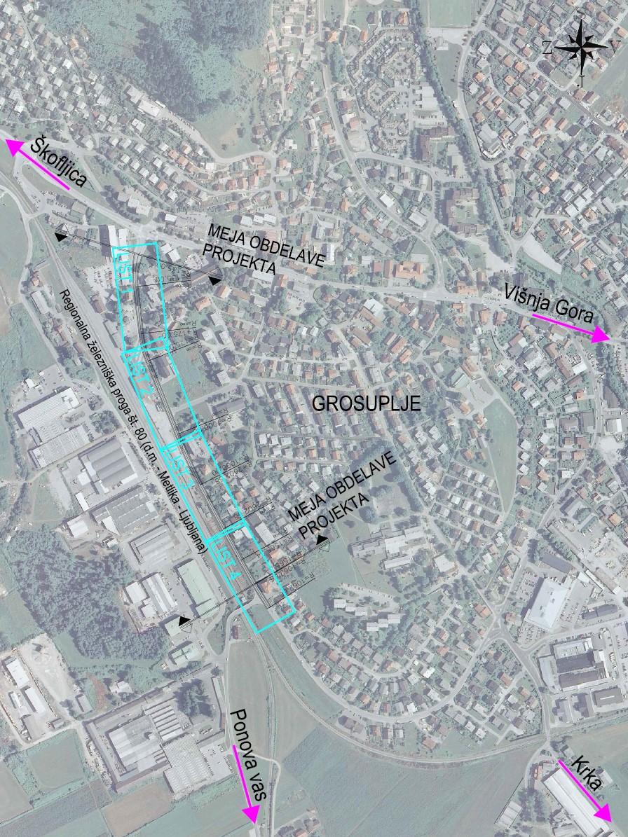 Prometno načrtovanje Taborska cesta Grosuplje slika4
