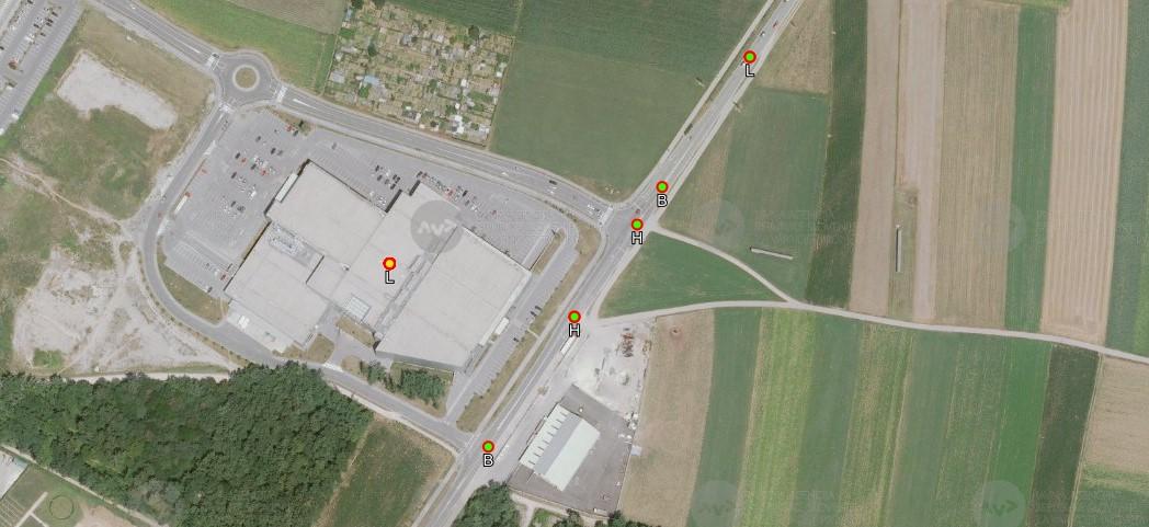 Prometne študije križišče Tuš Kranj slika2