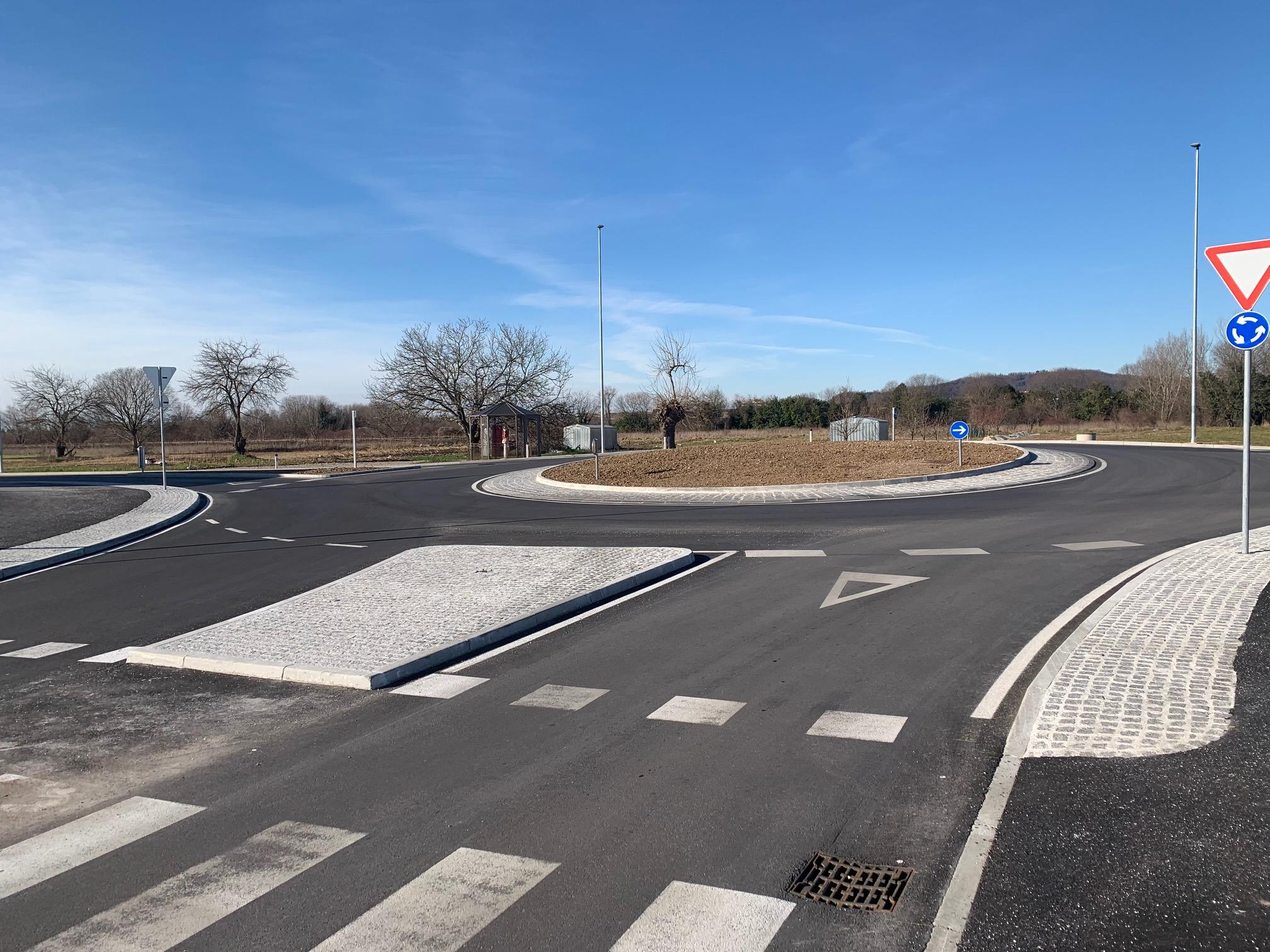 Prometno načrtovanje rondo Hofer Šempeter pri Gorici slika2
