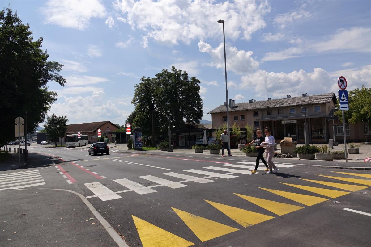 Prometno načrtovanje Taborska cesta Grosuplje slika2