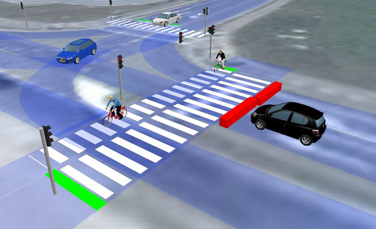 Prometne študije križišče Tuš Kranj slika3