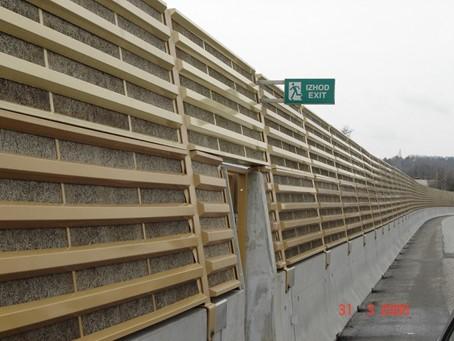 Prometni hrup AC Kozarje 2005 slika2
